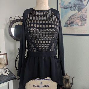 Bebe Hi/Low Shirt